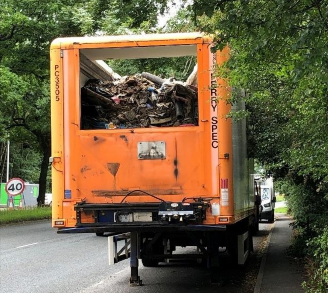 Appeal after abandoned trailers full of waste are found in Bromsgrove