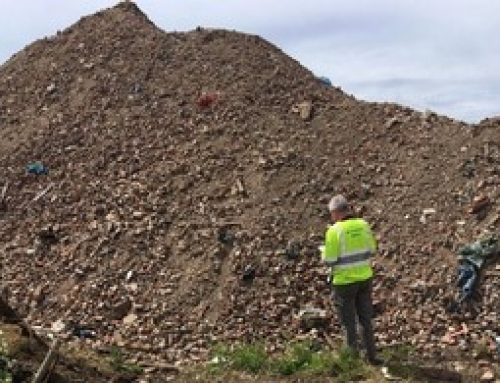 Enforcement officers target illegal waste site in Crowland