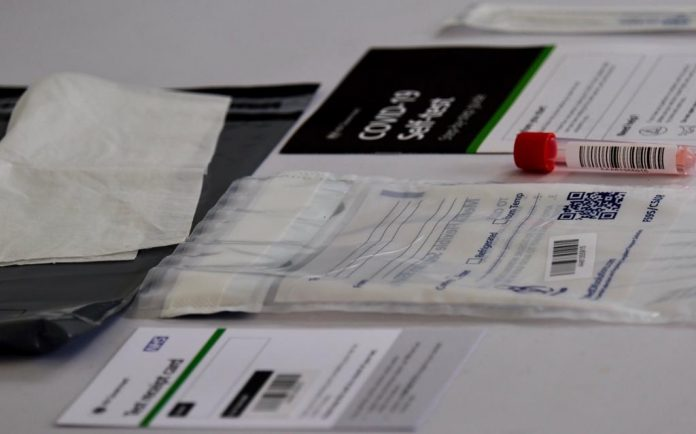 Covid testing kits collection